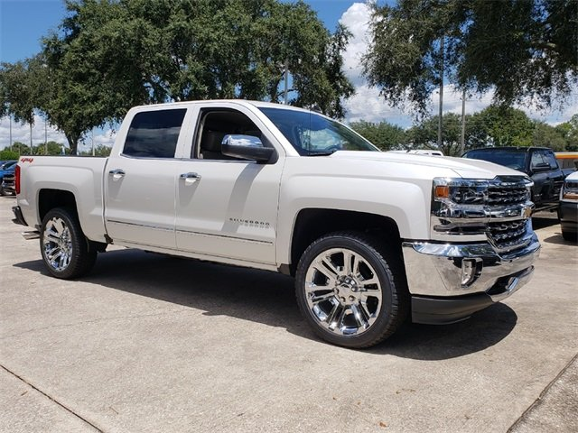 2018 Chevy Silverado 1500 LTZ Automatic 4 Door 4X4