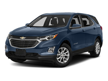 2018 Chevy Equinox LT FWD 1.5L DOHC Engine Automatic SUV