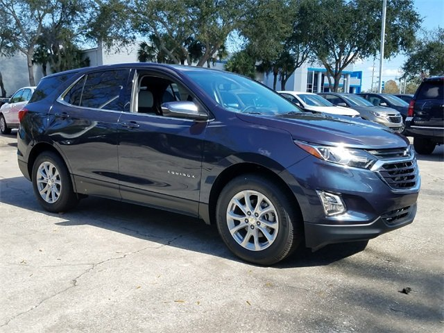 2018 Storm Blue Metallic Chevy Equinox LT FWD Automatic SUV