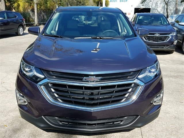 2018 Storm Blue Metallic Chevy Equinox LT 4 Door SUV 1.5L DOHC Engine Automatic