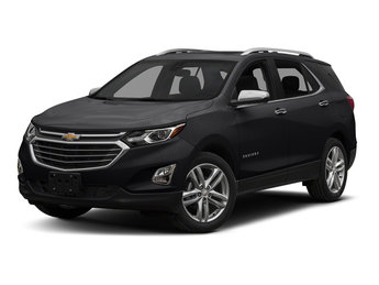 2018 Chevy Equinox Premier FWD 4 Door Automatic SUV 1.5L DOHC Engine