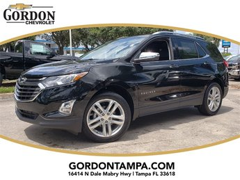2019 Mosaic Black Metallic Chevrolet Equinox Premier 1.5L DOHC Engine 4 Door Automatic