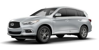 2018 Liquid Platinum Infiniti QX60 Base SUV FWD 4 Door