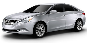 2013 Midnight Black Mica Hyundai Sonata GLS Automatic Sedan FWD 2.4L 4-Cylinder DGI DOHC Engine