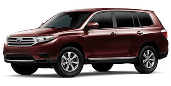 2013 Toyota Highlander Base Plus Automatic SUV 4 Door 2.7L 4-Cylinder DOHC 16V Dual VVT-i Engine