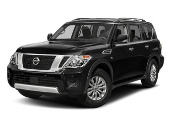 2017 Super Black Nissan Armada SV RWD Automatic 4 Door 5.6L V8 DOHC 32V Endurance Engine SUV
