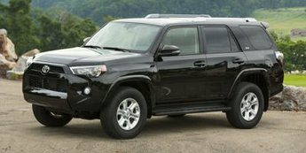 2018 Midnight Black Metallic Toyota 4Runner SR5 Automatic SUV 4 Door 4X4 4.0L V6 SMPI DOHC Engine