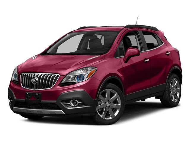 2016 Buick Encore Leather ECOTEC 1.4L I4 SMPI DOHC Turbocharged VVT Engine 4 Door FWD Automatic SUV
