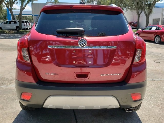 2016 Winterberry Red Metallic Buick Encore Leather FWD ECOTEC 1.4L I4 SMPI DOHC Turbocharged VVT Engine SUV 4 Door
