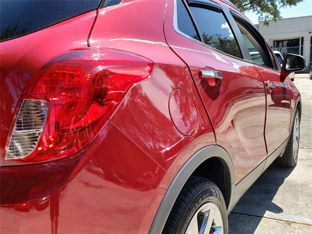 2016 Winterberry Red Metallic Buick Encore Leather ECOTEC 1.4L I4 SMPI DOHC Turbocharged VVT Engine 4 Door SUV Automatic