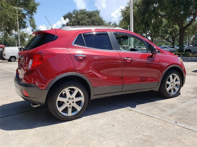 2016 Winterberry Red Metallic Buick Encore Leather ECOTEC 1.4L I4 SMPI DOHC Turbocharged VVT Engine SUV 4 Door