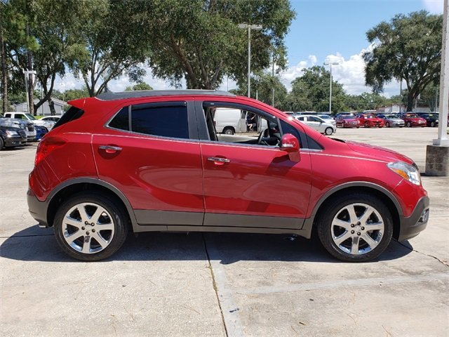 2016 Buick Encore Leather SUV FWD 4 Door ECOTEC 1.4L I4 SMPI DOHC Turbocharged VVT Engine Automatic