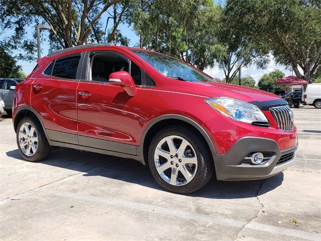 2016 Buick Encore Leather 4 Door ECOTEC 1.4L I4 SMPI DOHC Turbocharged VVT Engine SUV