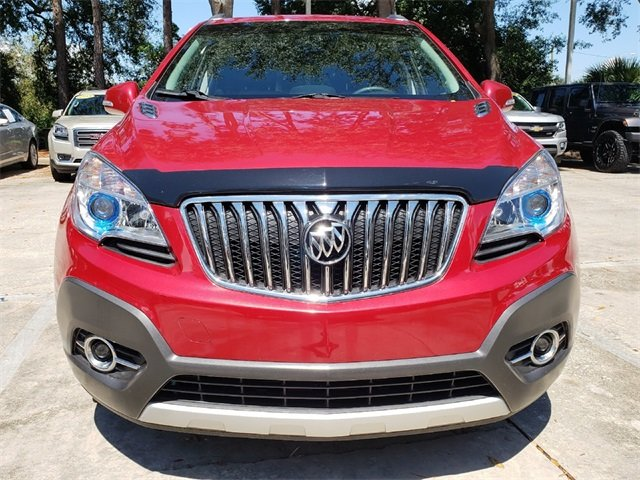 2016 Buick Encore Leather Automatic FWD ECOTEC 1.4L I4 SMPI DOHC Turbocharged VVT Engine