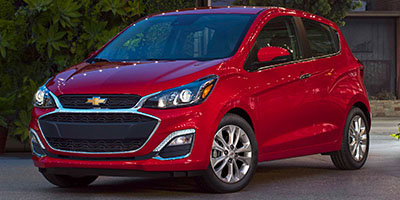 2019 Red Chevy Spark 1LT FWD 4 Door Hatchback