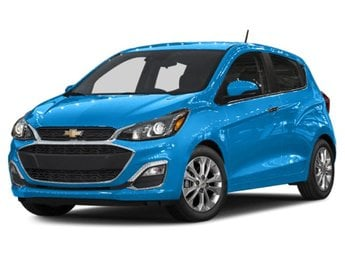 2019 Caribbean Blue Metallic Chevy Spark 1LT Automatic (CVT) Hatchback 4 Door 1.4L DOHC Engine