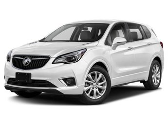 2019 Summit White Buick Envision Premium II 4 Door AWD Automatic
