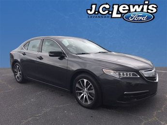 2015 Gray Acura TLX 2.4L 4 Door 2.4L DOHC 16V Engine Automatic FWD Sedan
