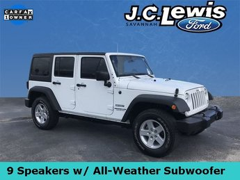 2015 Jeep Wrangler Unlimited Sport 4 Door SUV Automatic 3.6L V6 24V VVT Engine