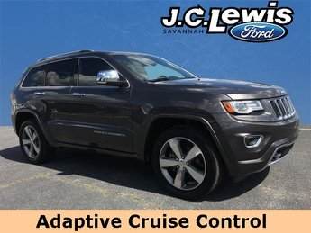 2016 Jeep Grand Cherokee Overland RWD Automatic SUV 3.6L V6 24V VVT Engine 4 Door