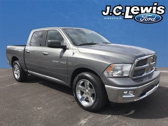 2012 Mineral Gray Metallic Ram 1500 Big Horn RWD Truck HEMI 5.7L V8 Multi Displacement VVT Engine