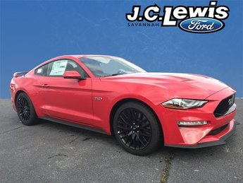 2019 Race Red Ford Mustang GT Premium 2 Door RWD 5.0L V8 Ti-VCT Engine