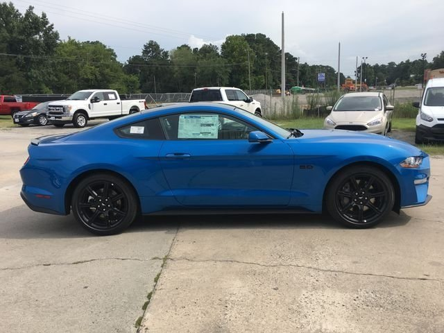 2019 Ford Mustang GT Premium RWD Coupe 5.0L V8 Ti-VCT Engine Manual 2 Door