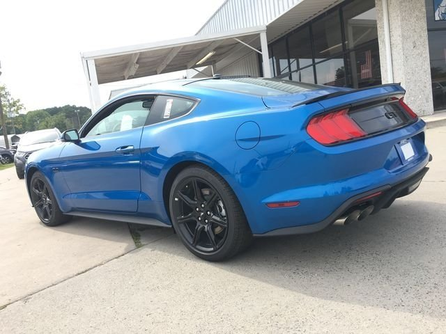 2019 Blue Metallic Ford Mustang GT Premium Coupe 2 Door 5.0L V8 Ti-VCT Engine RWD