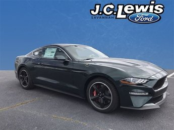 2019 Dark Highland Green Metallic Ford Mustang Bullitt RWD 2 Door 5.0L V8 Ti-VCT Engine Coupe