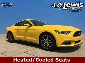 2017 Ford Mustang EcoBoost Premium 2 Door Automatic RWD Coupe EcoBoost 2.3L I4 GTDi DOHC Turbocharged VCT Engine
