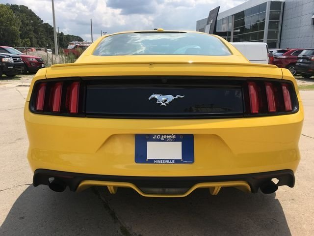 2017 Triple Yellow Tri-Coat Ford Mustang EcoBoost Premium 2 Door Coupe Automatic EcoBoost 2.3L I4 GTDi DOHC Turbocharged VCT Engine RWD
