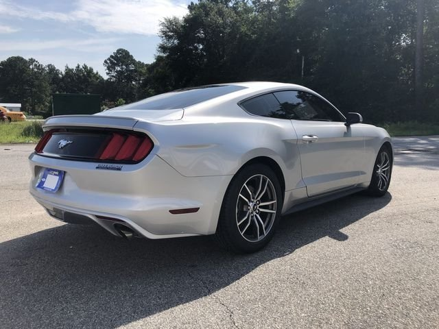2016 Ford Mustang EcoBoost EcoBoost 2.3L I4 GTDi DOHC Turbocharged VCT Engine Automatic 2 Door RWD