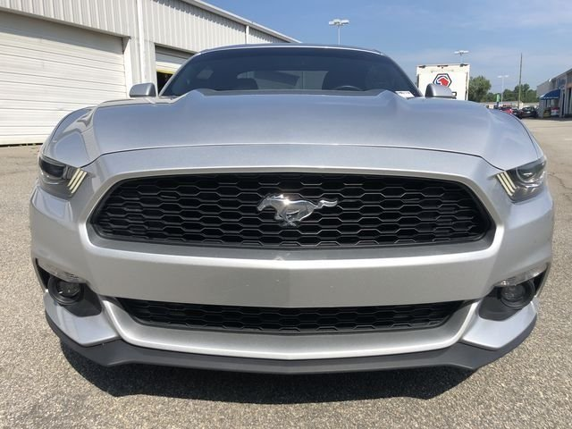 2016 Ingot Silver Metallic Ford Mustang EcoBoost Coupe 2 Door EcoBoost 2.3L I4 GTDi DOHC Turbocharged VCT Engine Automatic