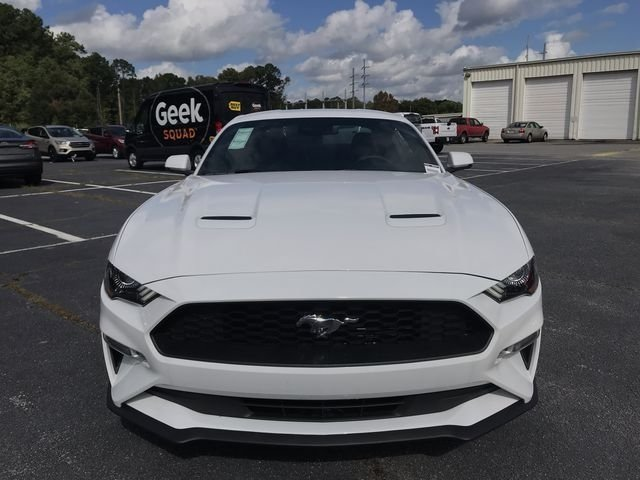 2018 Oxford White Ford Mustang EcoBoost Premium 2 Door RWD EcoBoost 2.3L I4 GTDi DOHC Turbocharged VCT Engine Automatic