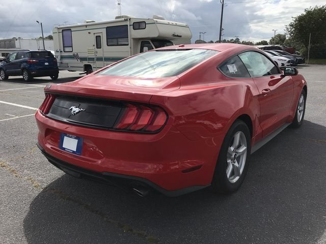 2019 Race Red Ford Mustang EcoBoost 2 Door RWD Automatic