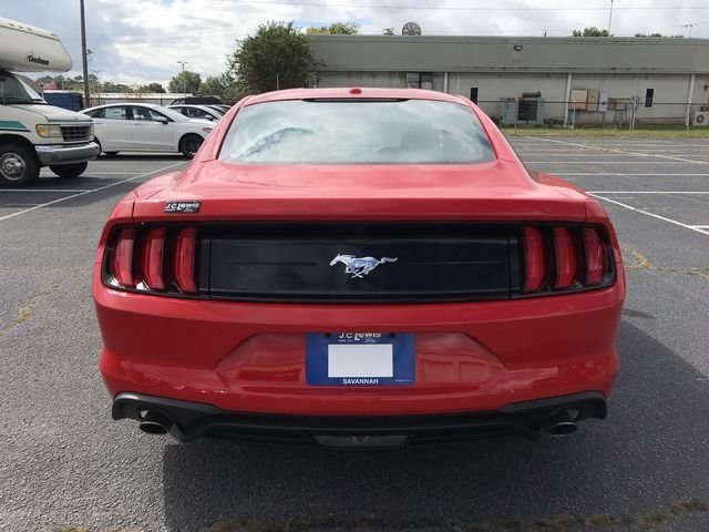 2019 Race Red Ford Mustang EcoBoost 2 Door Automatic RWD EcoBoost 2.3L I4 GTDi DOHC Turbocharged VCT Engine Coupe