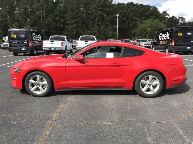 2019 Race Red Ford Mustang EcoBoost Automatic EcoBoost 2.3L I4 GTDi DOHC Turbocharged VCT Engine Coupe RWD