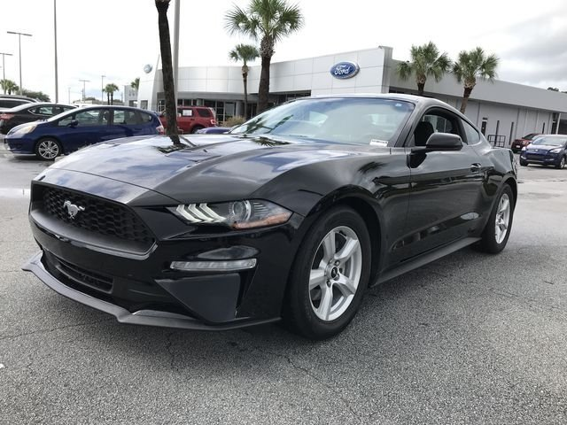 2018 Ford Mustang EcoBoost Automatic RWD EcoBoost 2.3L I4 GTDi DOHC Turbocharged VCT Engine Coupe