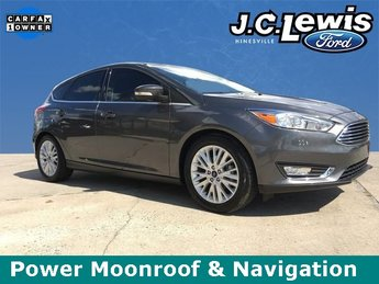 2017 Ford Focus Titanium 4 Door FWD Hatchback Automatic
