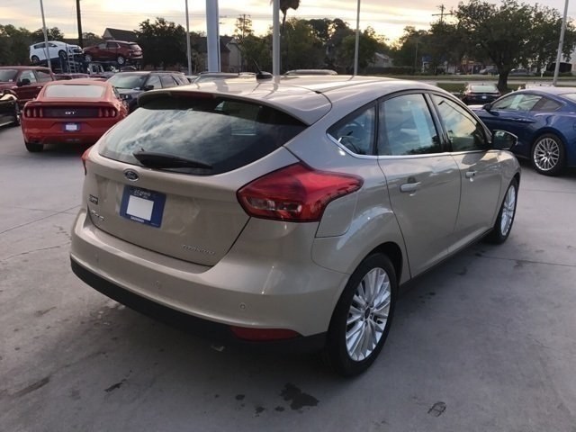 2017 Ford Focus Titanium Hatchback I4 Engine FWD
