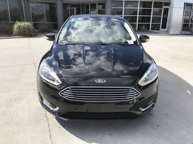 2018 Ford Focus Titanium 4 Door Automatic Hatchback FWD I4 Engine