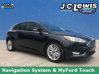 2015 Ford Focus Titanium Hatchback 2.0L 4-Cylinder DGI DOHC Engine 4 Door