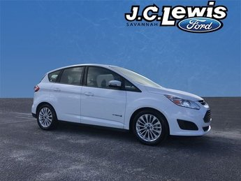 2018 Oxford White Ford C-Max Hybrid SE Hatchback Automatic (CVT) 4 Door 2.0L I4 Atkinson-Cycle Hybrid Engine FWD