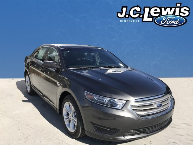 2018 Magnetic Metallic Ford Taurus SEL 3.5L V6 Ti-VCT Engine Automatic FWD 4 Door