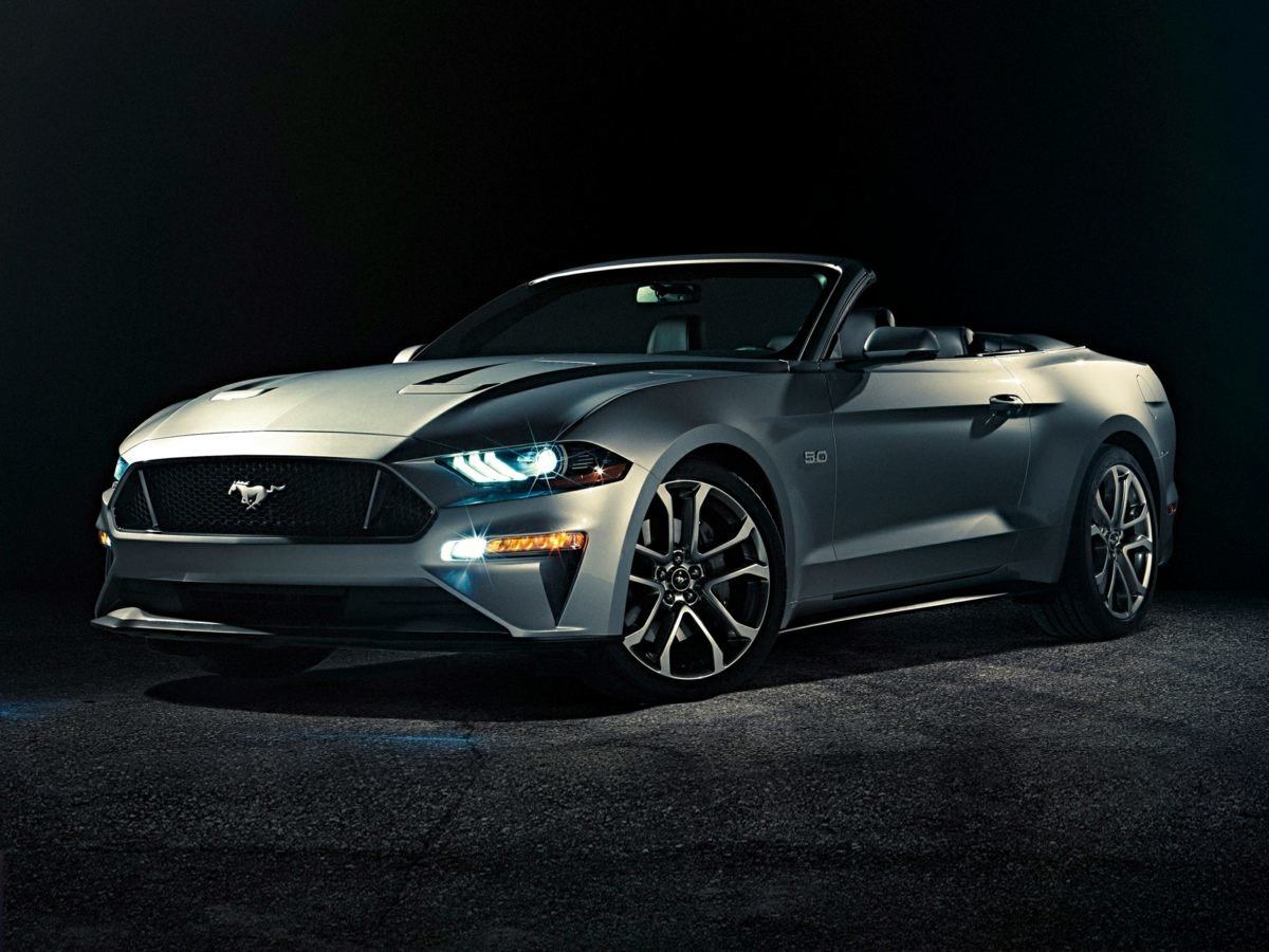 2019 Ford Mustang EcoBoost Premium Automatic EcoBoost 2.3L I4 GTDi DOHC Turbocharged VCT Engine Convertible