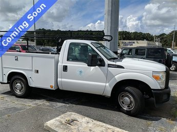 2012 Oxford White Ford Super Duty F-250 SRW XL RWD 6.2L V8 EFI SOHC 16V Flex Fuel Engine Truck Automatic 2 Door