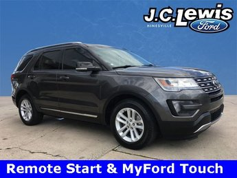 2016 Magnetic Metallic Ford Explorer XLT SUV 4 Door Automatic 3.5L 6-Cylinder SMPI DOHC Engine FWD