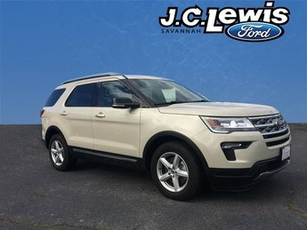 2018 Ford Explorer XLT SUV 3.5L V6 Ti-VCT Engine FWD Automatic 4 Door
