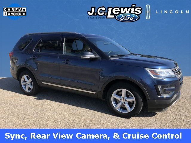 2016 Blue Jeans Metallic Ford Explorer XLT FWD 3.5L 6-Cylinder SMPI DOHC Engine Automatic 4 Door SUV