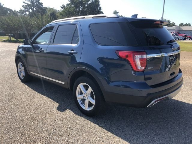 2016 Blue Jeans Metallic Ford Explorer XLT Automatic 4 Door SUV FWD 3.5L 6-Cylinder SMPI DOHC Engine